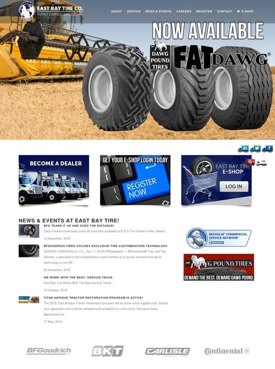 East Bay tire Co