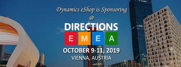 eShop will be Sponsoring at Directions EMEA 2019