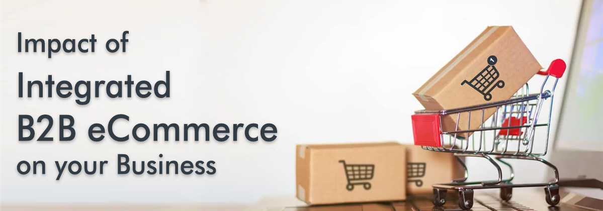Impact of Integrated B2B eCommerce on your business